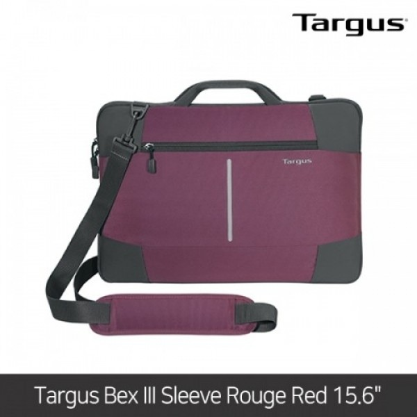 타거스 노트북가방 Targus Bex III Sleeve Rouge Red 15.6