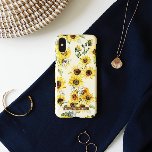 [iDEAL OF SWEDEN] FASHION CASE S/S19 IPHONE X/XS SUNFLOWER LEMONADE