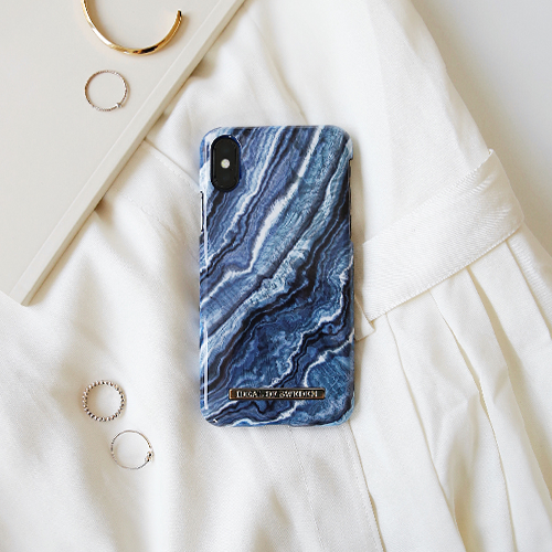 [iDEAL OF SWEDEN] FASHION CASE S/S19 IPHONE X/XS/XS MAX INDIGO SWIRL
