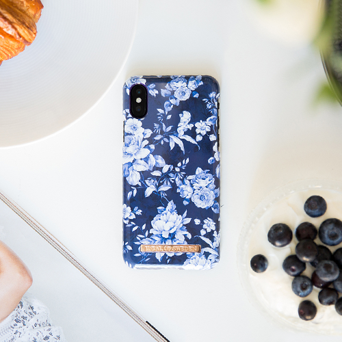 [iDEAL OF SWEDEN] FASHION CASE S/S18 IPHONE X/XS SAILOR BLUE BLOOM