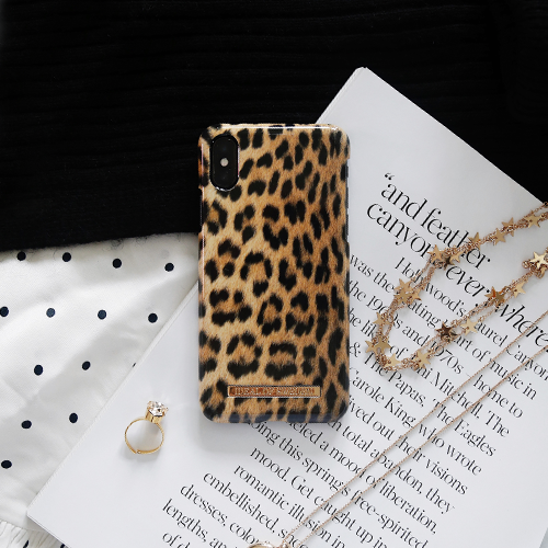 [iDEAL OF SWEDEN] FASHION CASE A/W17 IPHONE X/XS/XS MAX WILD LEOPARD