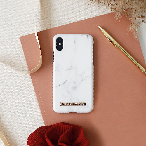 [iDEAL OF SWEDEN] FASHION CASE A/W16 IPHONE X/XS/XS MAX WHITE MARBLE
