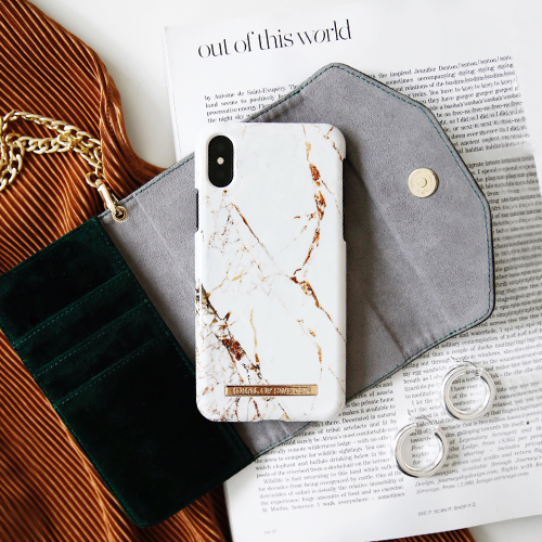 [iDEAL OF SWEDEN] FASHION CASE A/W16 IPHONE X/XS MAX CARRARA GOLD
