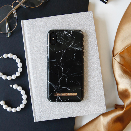 [iDEAL OF SWEDEN] FASHION CASE A/W16 IPHONE X/XS BLACK MARBLE