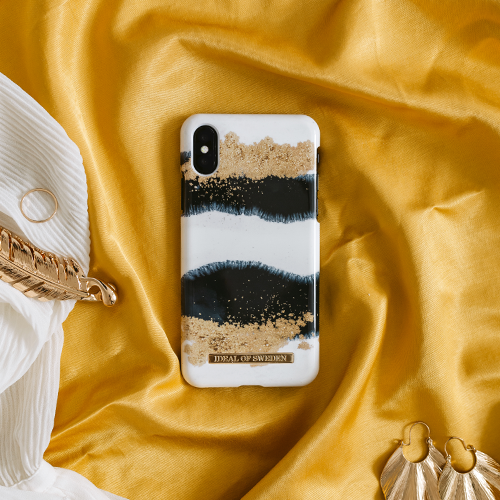 [iDEAL OF SWEDEN] FASHION CASE S/S19 IPHONE X/XS/XS MAX GLEAMING LICORICE