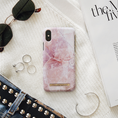 [iDEAL OF SWEDEN] FASHION CASE S/S17 IPHONE X/XS/XS MAX PILION PINK MARBLE