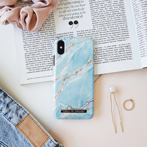 [iDEAL OF SWEDEN] FASHION CASE S/S17 IPHONE X/XS/XS MAX ISLAND PARADISE MARBLE